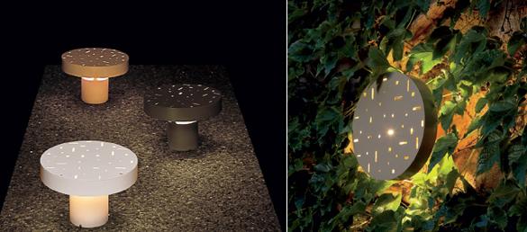 Lámpara de exterior Modelo Amanita