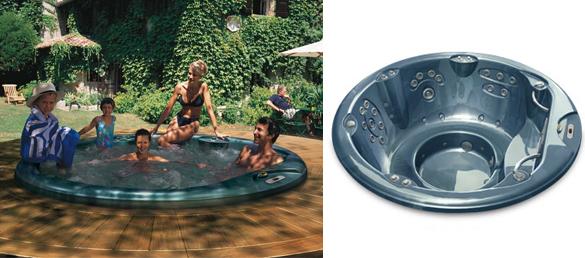Accesorios la web de los exteriores para piscinas for Diseno jacuzzi exterior