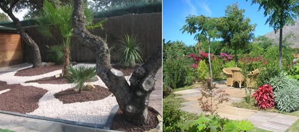 Un nuevo concepto de jardiner a la for Diseno de jardines pequenos sin cesped