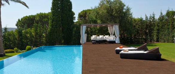 Pavimento lovely de rosa greslimpiafondos para piscinas - Pavimentos exteriores antideslizantes ...