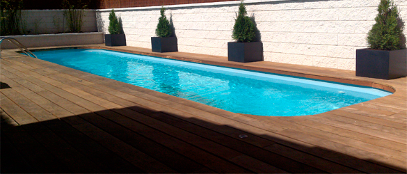 Los tipos de bordes de piscina o coronaci n m s utilizados for Bordes decorativos para piscinas